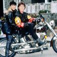 Kris Jenner et Caitlyn (Bruce à l'époque) Jenner en 1993 / photo postée sur Instagram.