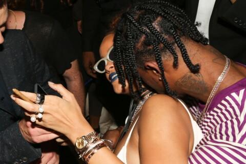 Rihanna et Travi$ Scott : Extrêmement proches à la Fashion Week