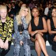 Shaun Ross, Kylie Jenner, Jennifer Hudson, Gabrielle Union, Front Row attending the Prabal Gurung Spring Summer 2016 Runway Show held at The Arc, Skylight at Moynihan Station, 360 West 33rd St in New York City, NY, USA on September 13, 2015. Photo by McMullan-Spaulding/DDP USA/ABACAPRESS.COM14/09/2015 - New York City