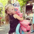 Jessica Simpson a ajouté une photo de sa fille sur son compte Instagram