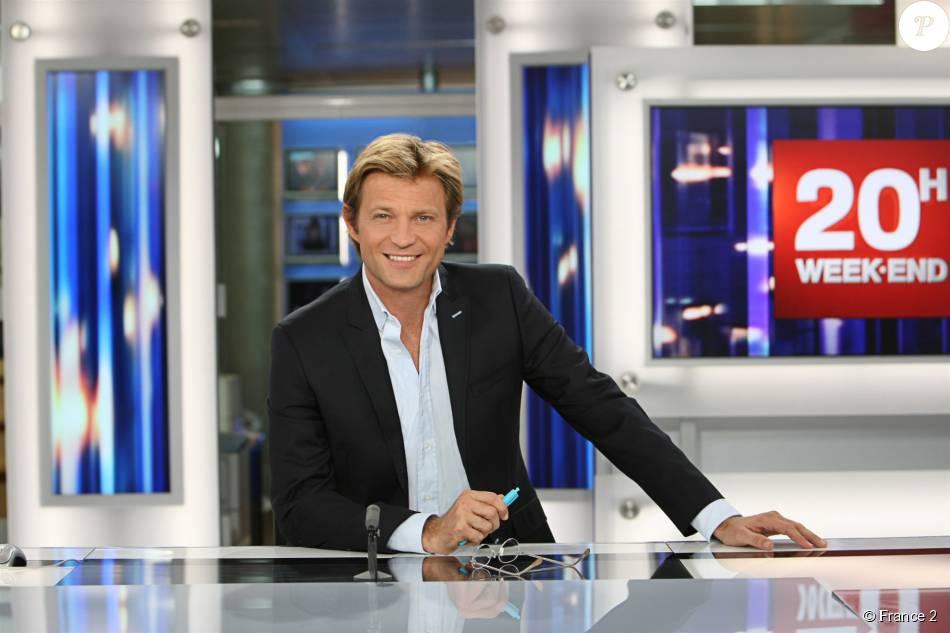 Laurent delahousse sur le plateau du jt de france 2 purepeople - Journaliste femme france 2 ...
