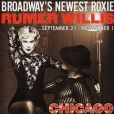 Rumer Willis incarne Roxie Hart dans la comédie musicale Chicago qui se joue actuellement à Broadway / photo postée sur Instagram.