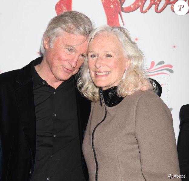 Glenn Close et David Shaw à New York le 4 avril 2013