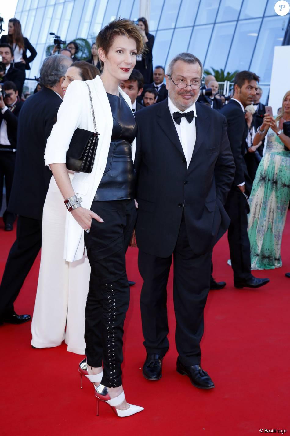 Natacha polony et son mari p rico l gasse mont e des marches du film the little prince le - Charlotte de turckheim et son mari ...