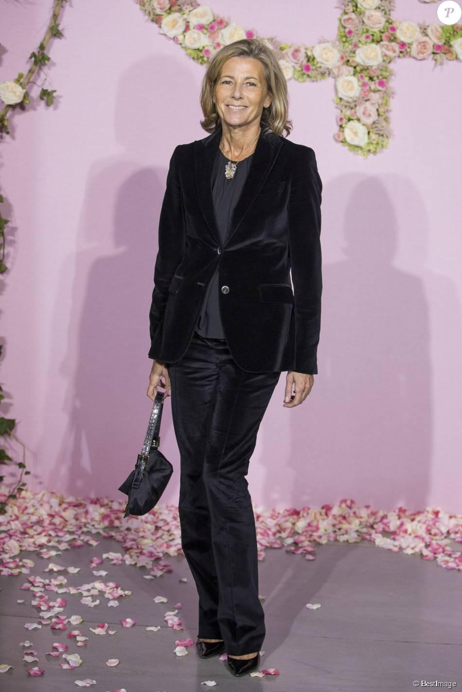 Claire Chazallors de la soirée de Gala de l'Opéra de Paris. Le 24 septembre 2015