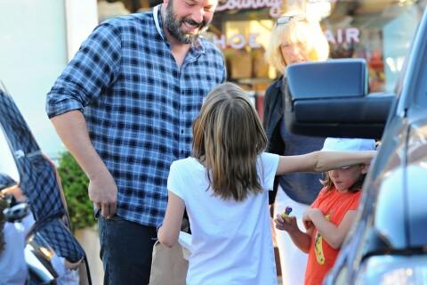 Ben Affleck papa-poule : Ses enfants lui redonnent le sourire