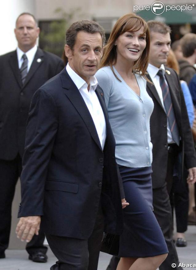 nicolas sarkozy carla. Carla Bruni et Nicolas Sarkozy