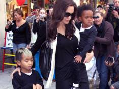 REPORTAGE PHOTOS : La magnifique Angelina Jolie... sortie shopping avec les enfants !
