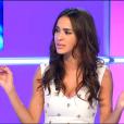 Leila Ben Khalifa dans  Le Débrief  sur NT1, le mercredi 7 octobre 2015.