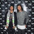 Les Twins assistent a l' After Fashion Week Party ELEVENPARIS au VIP Room a Paris, france, Le 8 Octobre 2015.