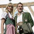 Sarah Brandner et Bastian Schweinsteiger