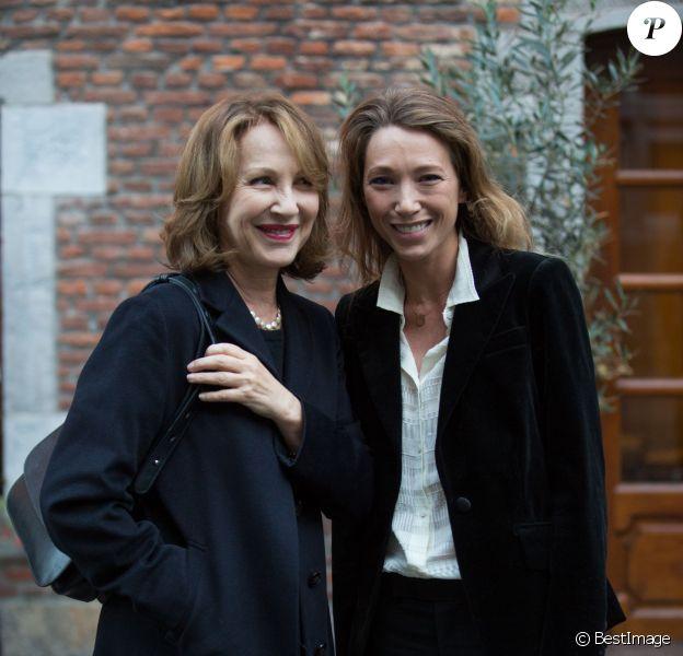 Exclusif - Nathalie Baye et sa fille Laura Smet lors du 30e Festival International du Film Francophone de Namur, le 2 octobre 2015.
