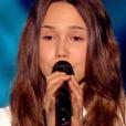 La petite Laura, dans  The Voice Kids  saison 2, le vendredi 9 octobre 2015 sur TF1.