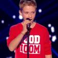 Le jeune Théo, dans  The Voice Kids  saison 2, le vendredi 9 octobre 2015 sur TF1.