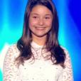 La jeune Emeline, dans  The Voice Kids  saison 2, le vendredi 9 octobre 2015 sur TF1.