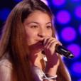 La jeune Selena, dans  The Voice Kids  saison 2, le vendredi 9 octobre 2015 sur TF1.