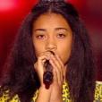 La jeune Shaina, dans  The Voice Kids  saison 2, le vendredi 9 octobre 2015 sur TF1.