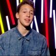 Le jeune Jacob, dans  The Voice Kids  saison 2, le vendredi 9 octobre 2015 sur TF1.
