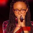 La petite Naomie, dans  The Voice Kids  saison 2, le vendredi 9 octobre 2015 sur TF1.