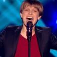 Le jeune Léo, dans  The Voice Kids  saison 2, le vendredi 9 octobre 2015 sur TF1.