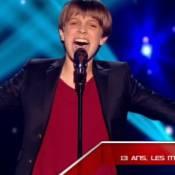 """The Voice Kids : Le """"Justin Bieber québecois"""" et un mini-Jean-Louis Aubert !"""