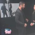 Loïc et Emilie dans la salle du sursis, dans l'hebdo de  Secret Story 9  sur TF1, le vendredi 9 octobre 2015.