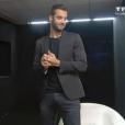Loïc dans la salle du sursis, dans l'hebdo de  Secret Story 9  sur TF1, le vendredi 9 octobre 2015.