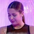Coralie en larmes, dans l'hebdo de  Secret Story 9  sur TF1, le vendredi 9 octobre 2015.