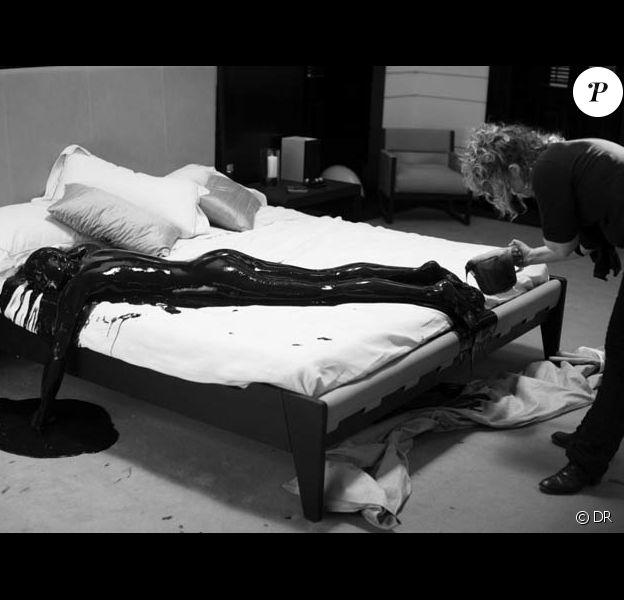 Gemma Aterton sur le tournage de 'Quantum of Solace'