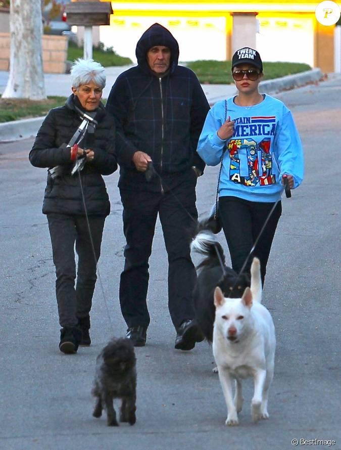 amanda bynes se balade avec ses parents et ses chiens a thousand oaks le 7 decembre 2013. Black Bedroom Furniture Sets. Home Design Ideas
