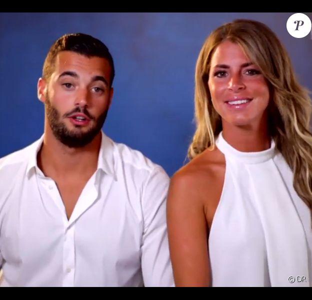 Emilie et Loic, les faux jumeaux, dans Secret Story 9, le vendredi 21 aout 2015, sur TF1