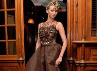 Salon du chocolat : Tatiana Golovin, amincie après bébé, rayonne dans sa robe