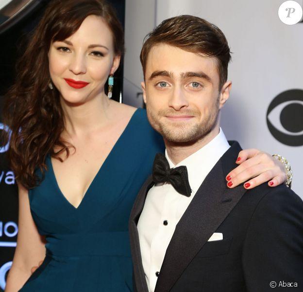 Daniel Radcliffe et Erin Darke aux Tony Awards à New York le 8 juin 2014.