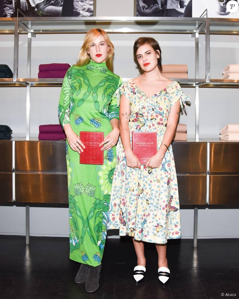 Scout LaRue Willis, Tallulah Belle Willis - Soirée Equipment & Vogue avec Liz Goldwyn à la boutique Equipment, Los Angeles, le 21 octobre 2015