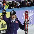 Marlies Schild, vainqueur du slalom de Soldeu, le 11 février 2012