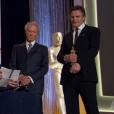 Maureen O'Hara recevait un Oscar d'honneur lors des Governors Awards 2014.