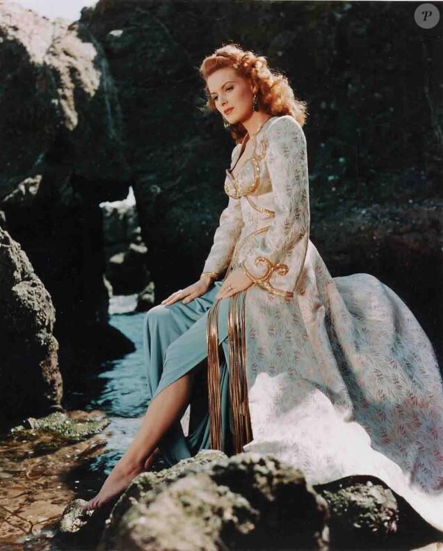 Maureen O'Hara dans  Les Frères Barberousse (1951)