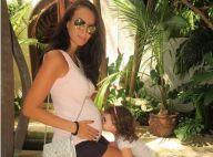 Jade Foret, en famille : La petite Liva, 3 ans, veille sur sa maman enceinte !