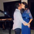 Arnaud Lagardère et Jade Foret, fous d'amour, en vacances en octobre 2015.