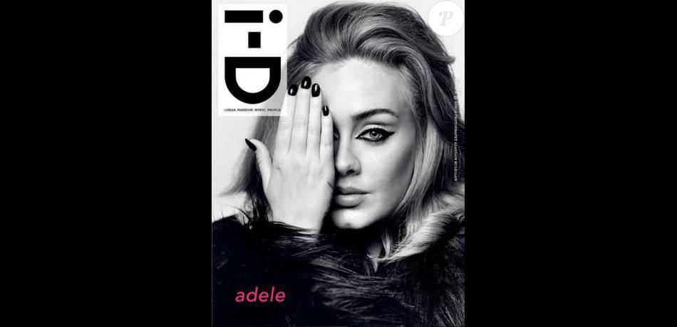 Adele en couverture de i-D's.