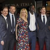 Omar Sy, discret aux côtés de la belle Sienna Miller et de Bradley Cooper