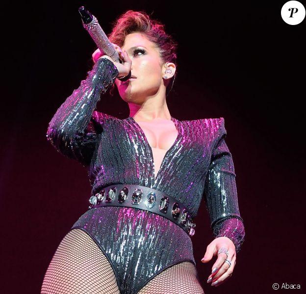 Jennifer Lopez, ultrasexy lors du Megaton Mundial De Polito Vega 2015 au Madison Square Garden. New York, le 28 octobre 2015.