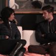 Nathalie et Ali - Quotidienne de  Secret Story 9 , sur NT1, le 22 octobre 2015.