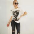 Jessie J prend la pause et dévoile son crane chauve / photo postée sur le compte Instagram de la chanteuse.
