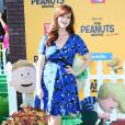Sara Rue à la première du film The Peanuts Movie à Los Angeles, le 1er novembre 2015