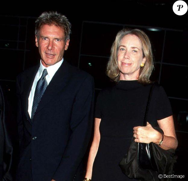 Harrison Ford et Melissa Mathison à New York le 24 septembre1998.