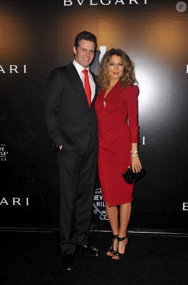 Travis Schuldt et Natalie Zea à la soirée Rodeo Drive Walk Of Style à Beverly Hills, Los Angeles, le 5 décembre 2012