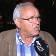 "Justo Valbuena devant la caméra du journal ""Marca"" - novembre 2015."