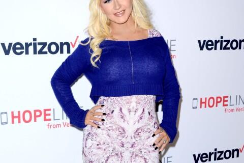 """Christina Aguilera : """"Blake Shelton et Gwen Stefani méritent d'être heureux"""""""