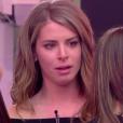Emilie dans  Secret Story 9 , la quotidienne du vendredi 13 novembre 2015. Emilie en larmes.